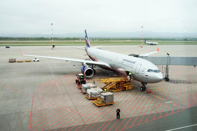В Приморский край за 3000 р. Аэрофлотом. Владивосток-Москва, Airbus A330-343X, VQ-BCV