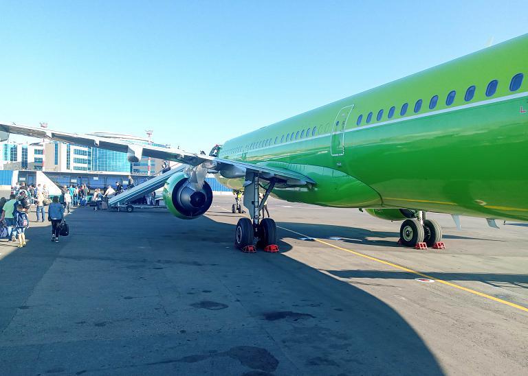 Омск-Москва, S7 (Сибирь), Airbus A321-211, VQ-BQJ