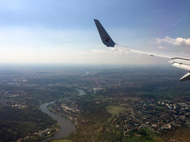 Из Москвы в Прагу с