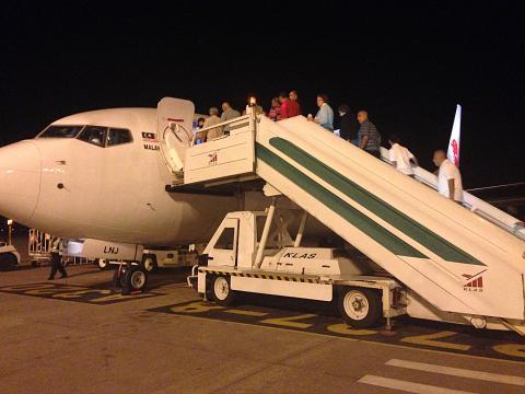 Лангкави - Куала-Лумпур а/к Malindo airlines