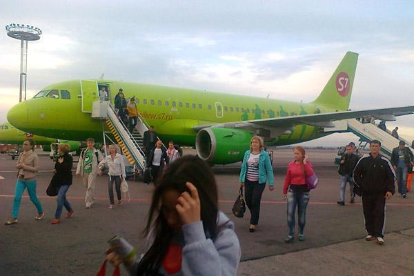 Москва-Тюмень (ЮТэйр 737-500), обратно Тюмень-Москва (СИБИРЬ)