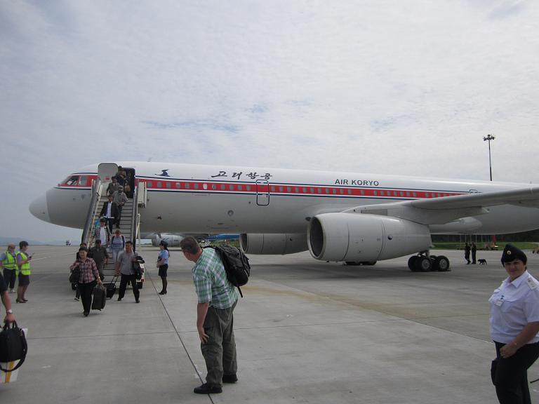 Владивосток-Пхеньян  Пхеньян-Владивосток с Air Koryo. Перелеты осуществлялись в 2012 году