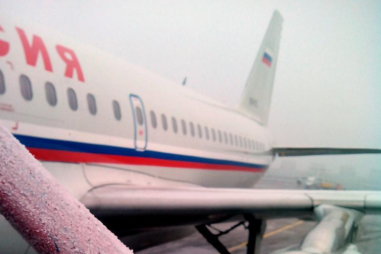 Санкт-Петербург - Москва. АК Россия, А319 EI-EYL