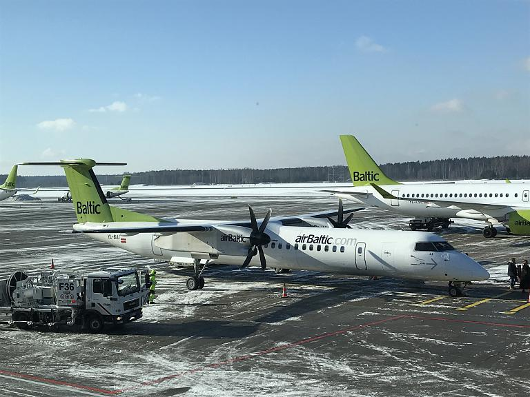 Рига - Будапешт на Bombardier Dash 8 Q400 авиакомпании Air Baltic (101 фото)
