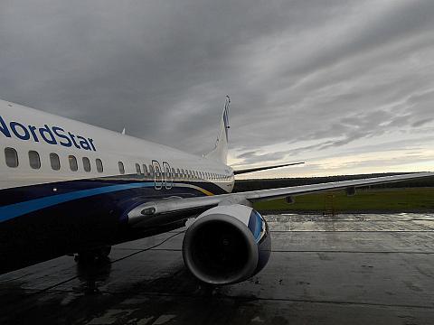 Красноярск - Москва (Домодедово), Боинг-737-800, Нордстар
