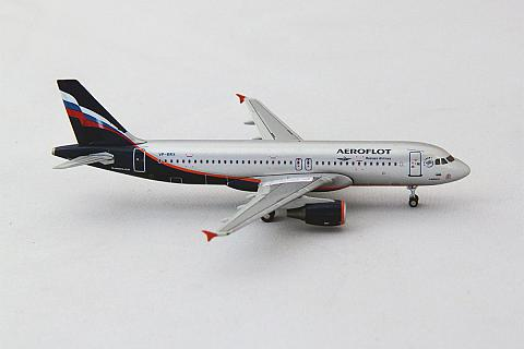 JC Wings: Airbus A320 Аэрофлот в масштабе 1:400