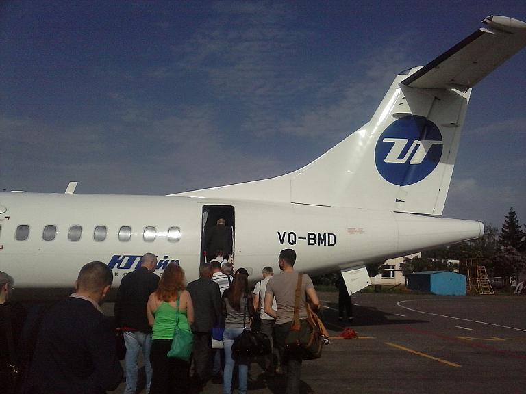 Тамбов - Москва, или полёт из аэропорта одного рейса