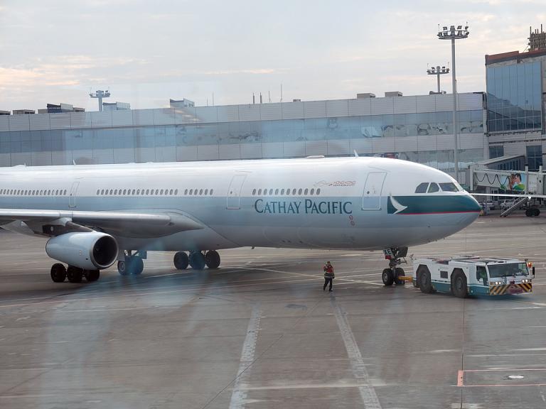 Фотообзор авиакомпании Катей Пасифик (Cathay Pacific)