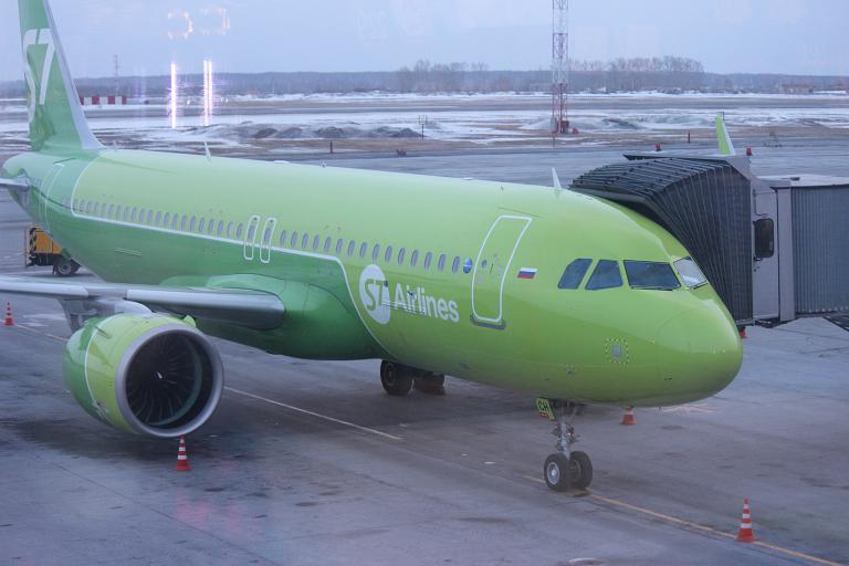 Фотообзор полета на самолете Airbus A320neo