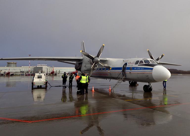 Санкт-Петербург—Кострома (LED-KMW). Ан-26 Костромское Авиапредприятие