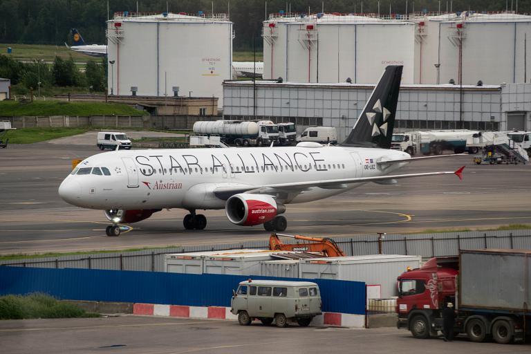 Lago Maggiore. Москва - Вена OS602 на ex-LH A320 Austrian Airlines