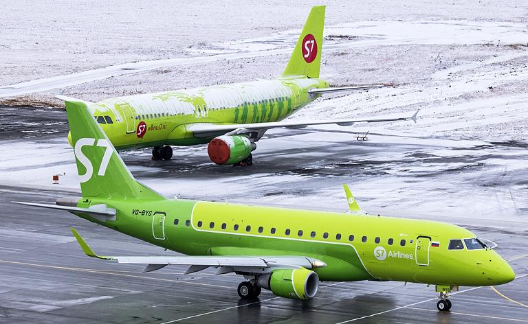 S7 Airlines DME-BZK-DME