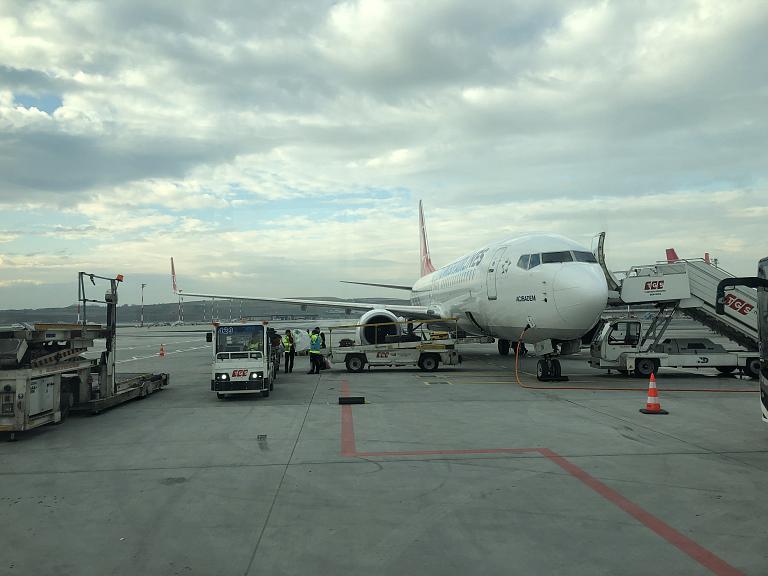 Фотообзор аэропорта Стамбул Новый