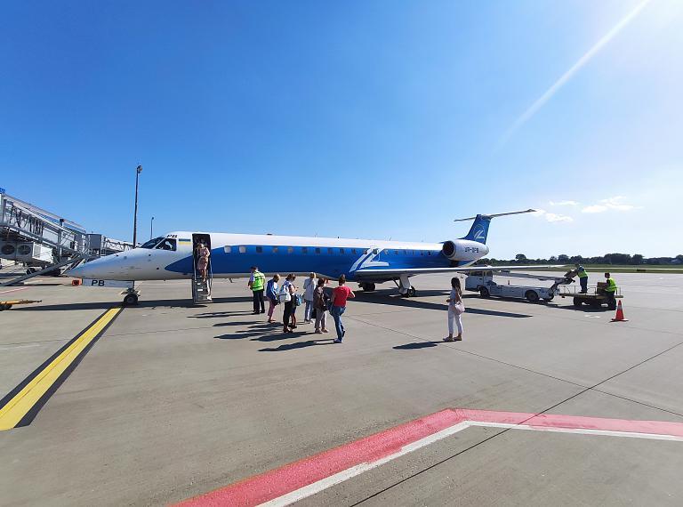Пока Одесса, пока и Киев. Киев (KBP) - Львов (LWO) Windrose Embraer ERJ145.