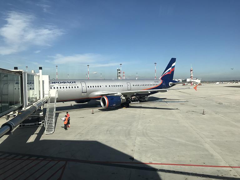 Econom class A321-200 Aeroflot Russian Airlines (VCE)-(SVO-E) SU2597