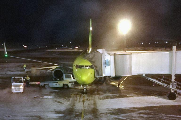 Новосибирск (Толмачево - OVB) - Чита (Кадала - HTA) с S7 Airlines на B-737-800 (Бизнес-класс)