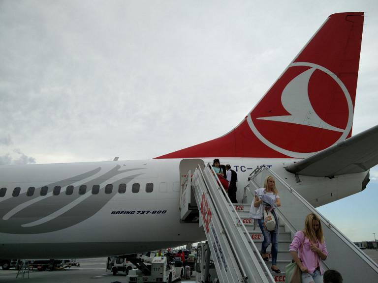 Теплый май в Стамбуле. KBP - SAW.