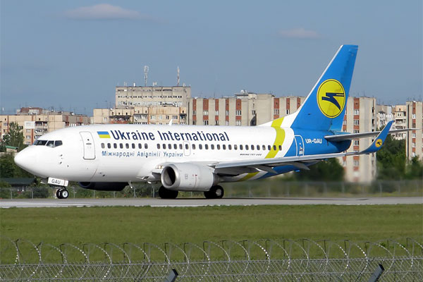 From Kiev to Moscow with Ukraine International Airlines