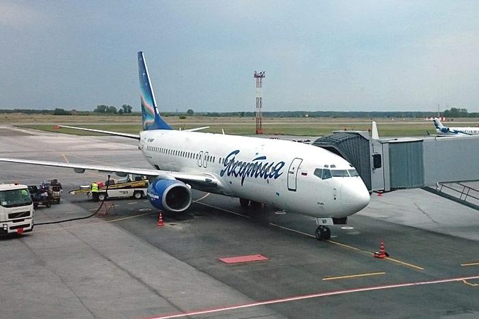 Якутск - Новосибирск - Екатеринбург авиакомпанией Якутия