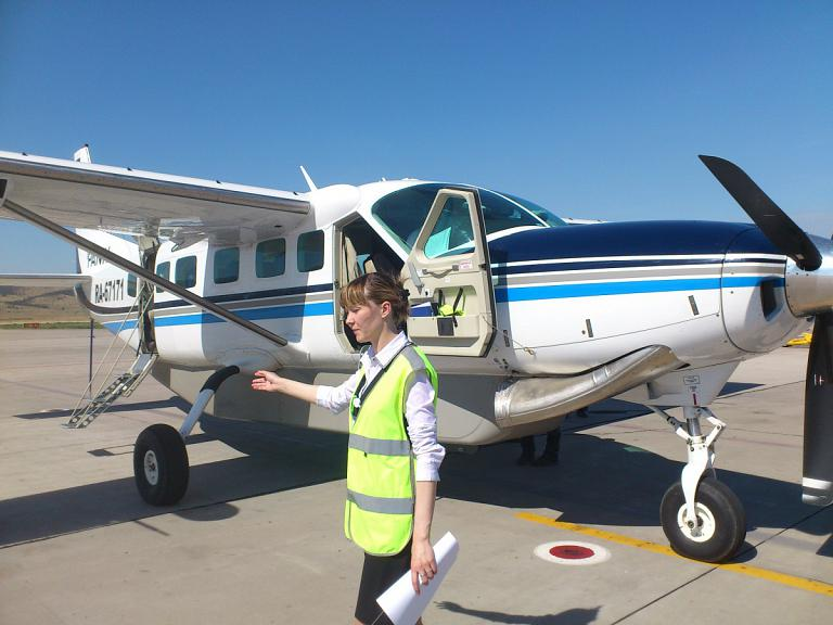 Flight reports of Cessna Caravan