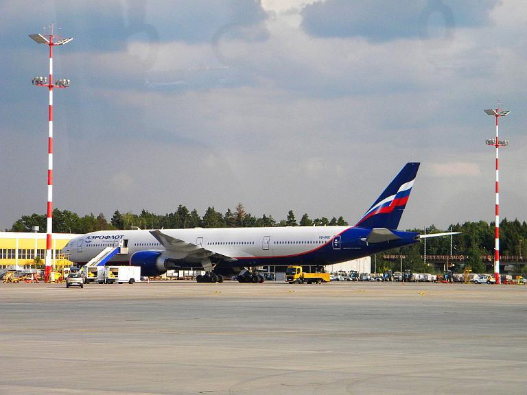 Москва - Хабаровск. Аэрофлот. Боинг-777. Бизнес-класс.