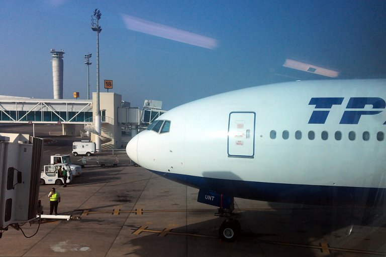 Путешествие в Африку. Энфида - Москва с авиакомпанией Трансаэро. Часть 2.