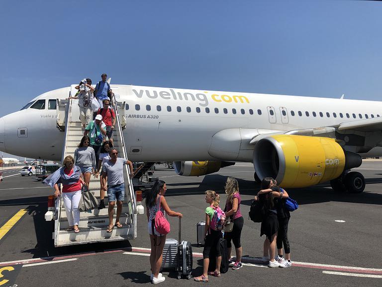 Закинф - Рим с Vueling А-320