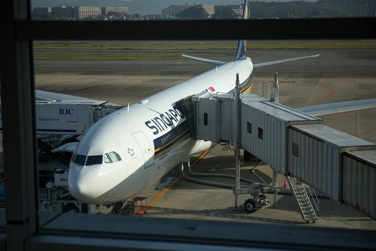 Фукуока, международный терминал (FUK)  - Сингапур, чанги, Т2 (SIN) с Singapore airlines