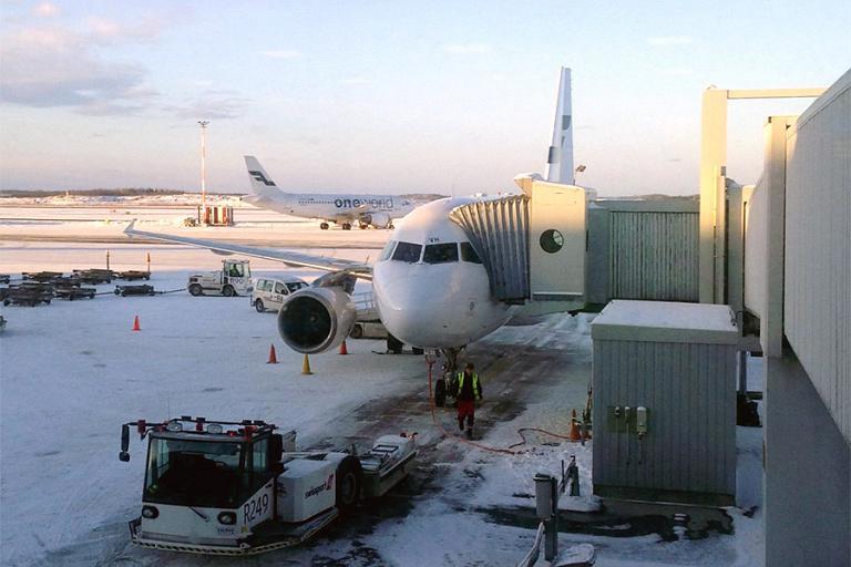 Москва-Хельсинки-Каяни. Часть 1, Москва(SVO)-Хельсинки(HEL) с а/к Finnair