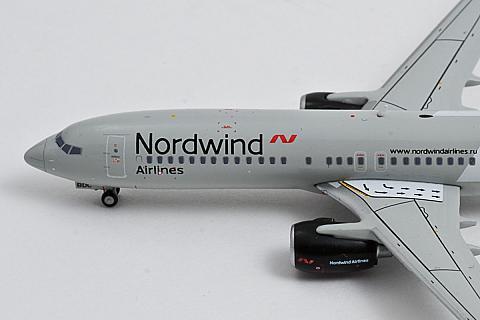 JC Wings: модель Боинга-737-800 Nordwind в масштабе 1:400