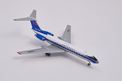 "Panda Model: Ту-134 ""Синяя птица"" в масштабе 1:400"