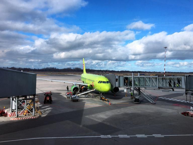 Фотообзор полета на самолете Airbus A319