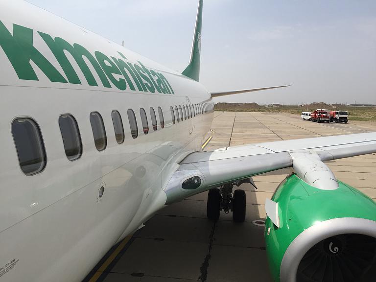 Фотообзор авиакомпании Туркменистан Эйрлайнз (Turkmenistan Airlines)