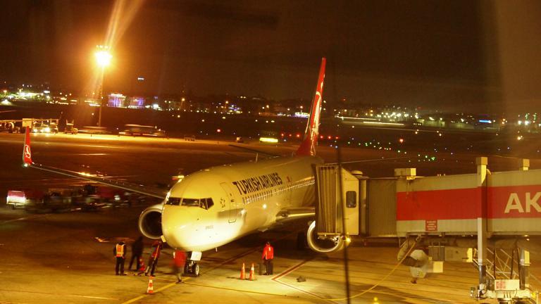 Путешествие в дальний край. Этап 8, заключительный: «Турецкие авиалинии»  Стамбул – Екатеринбург на Боинг-737-800