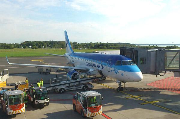 Таллинн - Москва с Estonian Air