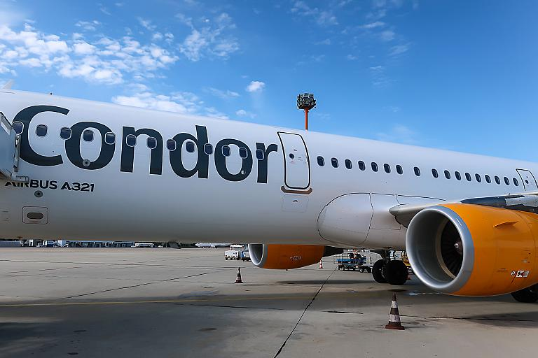 Фотообзор авиакомпании Кондор Флюгдинст (Condor Flugdienst)