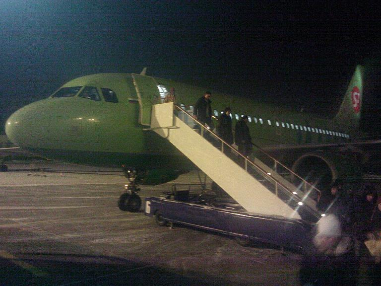 Тбилиси - Москва - Пермь на зелёном А-319
