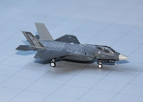Herpa: Lockheed Martin F-35A в масштабе 1:200