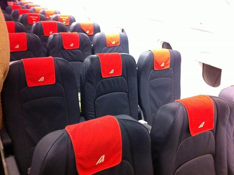 Перелет из Москвы во Флоренцию: Часть четвертая. Рим-Москва с Alitalia