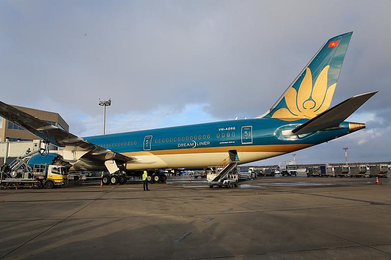 Фотообзор полета на самолете Boeing 787-9
