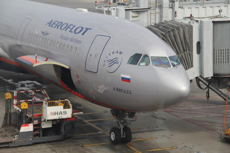 Hong Kong to Moscow with Aeroflot