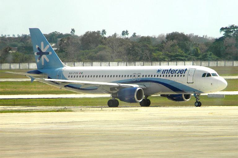 Фотообзор авиакомпании Интерджет (Interjet)