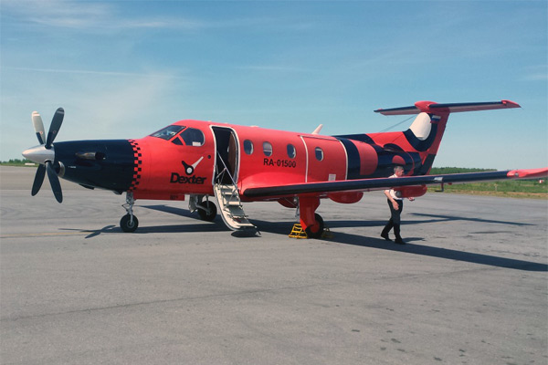 Фотообзор полета на самолете Pilatus PC-12