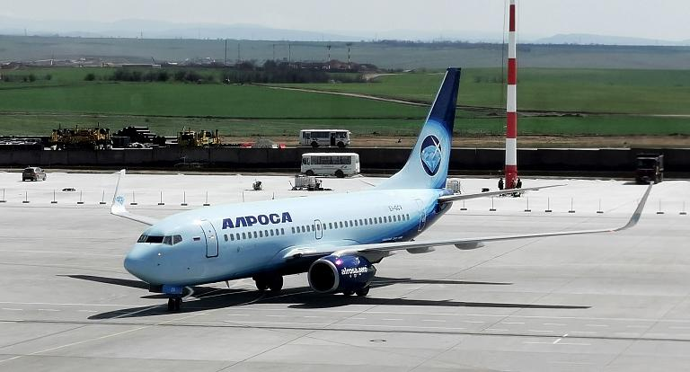 В янтарную весну Кёнигсберга, часть №1 - Алмазный полёт на крыльях Boeing 737-700 а/к Алроса