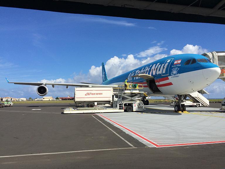 Фотообзор авиакомпании Эйр Таити Нюи (Air Tahiti Nui)