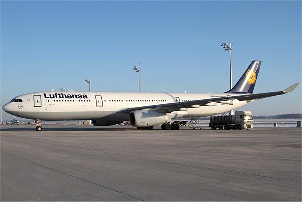 Монреаль-Москва с Lufthansa