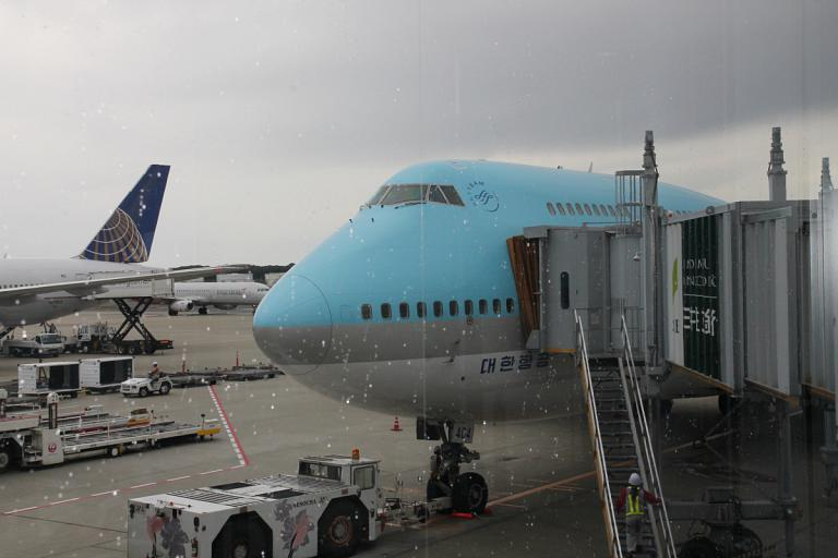 Tokyo (NRT) - Seoul (ICN). Апрель 2015 г.