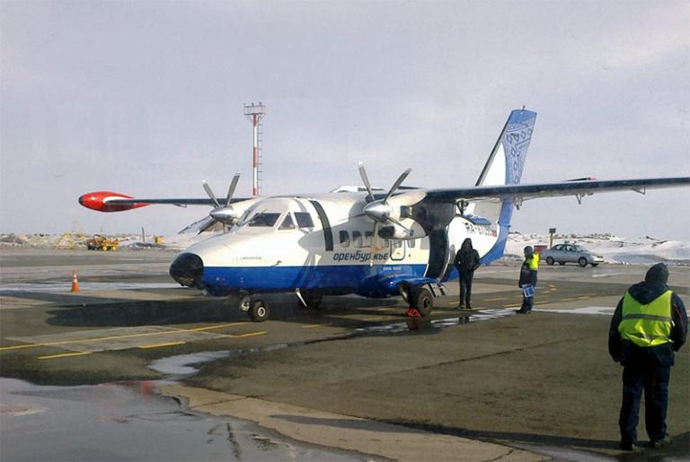 Региональный перелет Киров-Самара на L-410
