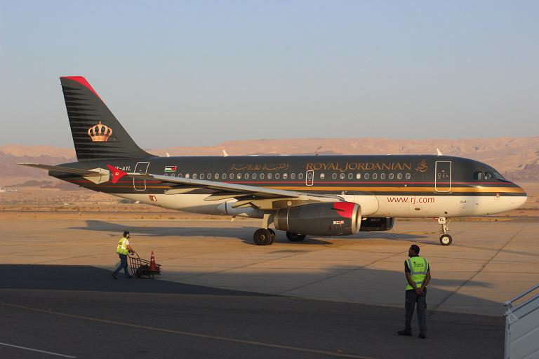 Фотообзор авиакомпании Ройал Джорданиан Эйрлайнз (Royal Jordanian Airlines)