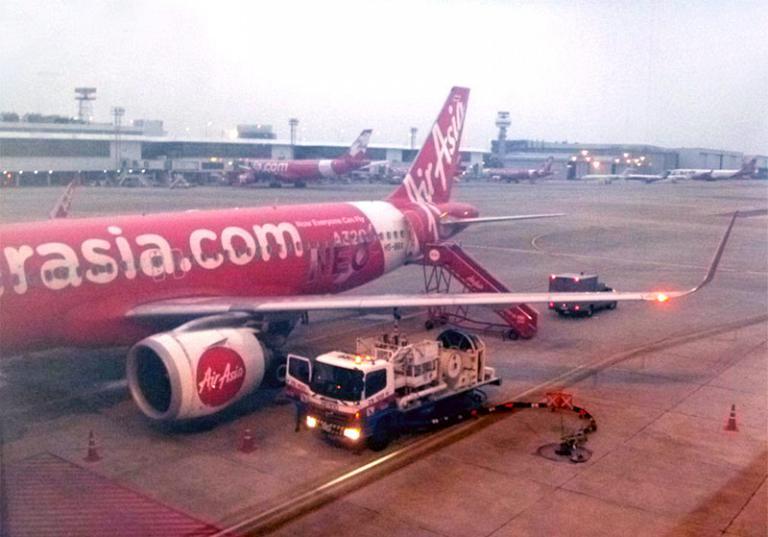 Из Европы в Азию и обратно. Часть 7. Бангкок (DMK) - Макао на Airbus A320neo Thai AirAsia.